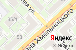 Схема проезда до компании Фиона в Новосибирске
