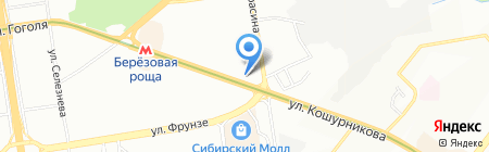 Laitovo на карте Новосибирска