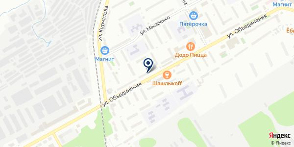 Элис на карте Новосибирске