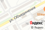 Схема проезда до компании Олди в Новосибирске