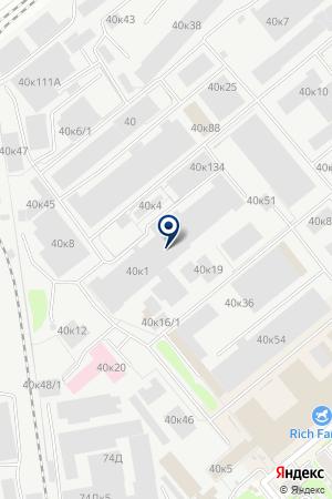 ВИК Командир на карте Новосибирска