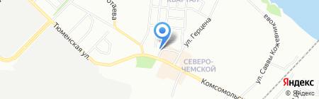 Кухни в студию на карте Новосибирска