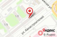 Схема проезда до компании Галактика-С в Новосибирске