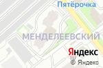 Схема проезда до компании Барракуда в Новосибирске