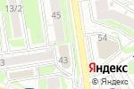 Схема проезда до компании ТехТрансСервис в Новосибирске