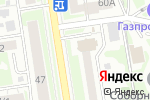 Схема проезда до компании Ярко 5 в Новосибирске