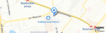 Legrand на карте Новосибирска