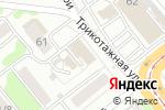 Схема проезда до компании АлВис в Новосибирске