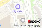 Схема проезда до компании Прогресс-Энерго в Новосибирске