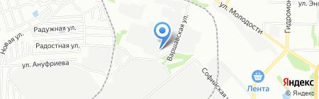 Оконная Мануфактура на карте Новосибирска