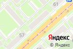 Схема проезда до компании Попутка в Новосибирске