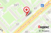 Схема проезда до компании Кредитное Партнерство в Новосибирске