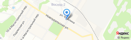 Банкомат АКБ РОСБАНК на карте Новосибирска