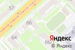 Схема проезда до компании Генеральный Строительный Сервис в Новосибирске