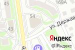 Схема проезда до компании АБГрупп в Новосибирске