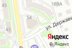 Схема проезда до компании Оливка в Новосибирске