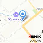 Фикс Ролл на карте Новосибирска
