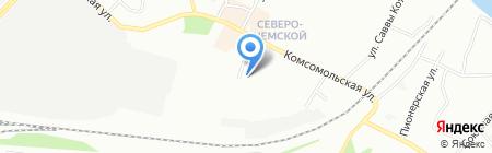 Радужный на карте Новосибирска