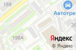 Схема проезда до компании Галланск в Новосибирске