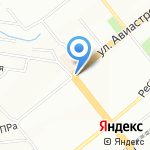 ДоброДеньги на карте Новосибирска