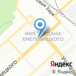 КанцМастер на карте Новосибирска