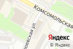Схема проезда до компании Домашняя выпечка в Новосибирске