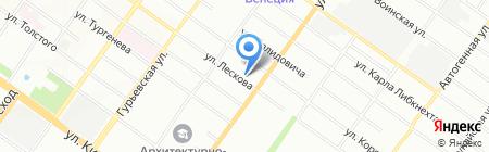beecar.ru на карте Новосибирска