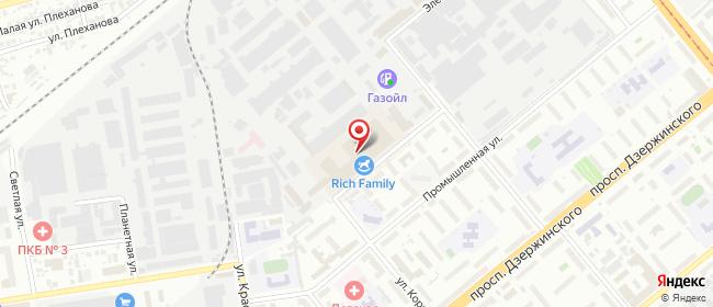 Карта расположения пункта доставки Новосибирск Королева в городе Новосибирск