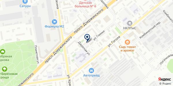 ЖЭУ №82 на карте Новосибирске