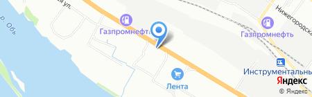 Правиль пиво на карте Новосибирска