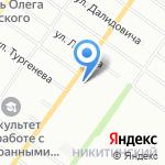 Пекарня на карте Новосибирска