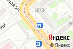 Схема проезда до компании Торговая Площадь в Новосибирске
