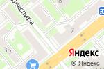 Схема проезда до компании Баттерфляй в Новосибирске