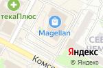 Схема проезда до компании Связной в Новосибирске