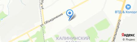 НСИ на карте Новосибирска