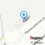 ТНГ на карте Новосибирска