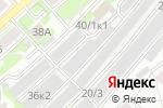 Схема проезда до компании Спутник в Новосибирске