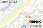 Схема проезда до компании АМАТИС в Новосибирске