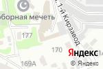 Схема проезда до компании Подразделение Д в Новосибирске
