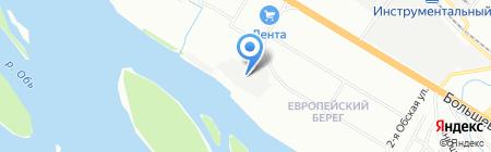 Проффхолод на карте Новосибирска