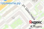 Схема проезда до компании Viva-Diva в Новосибирске