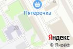 Схема проезда до компании Ариант в Новосибирске
