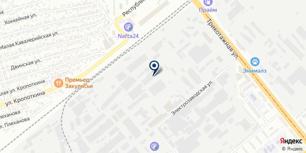Техно-Стиль на карте Новосибирске