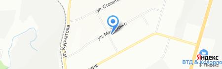 Авоська на карте Новосибирска
