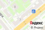 Схема проезда до компании Совенок в Новосибирске