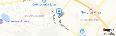 ПЕЧНОЕ И КАМИНОЕ ЛИТЬЕ на карте Новосибирска