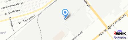 Каффа на карте Новосибирска