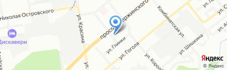 PANDORA на карте Новосибирска