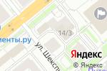 Схема проезда до компании ПожТехник в Новосибирске