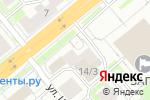 Схема проезда до компании Pay. Travel в Новосибирске